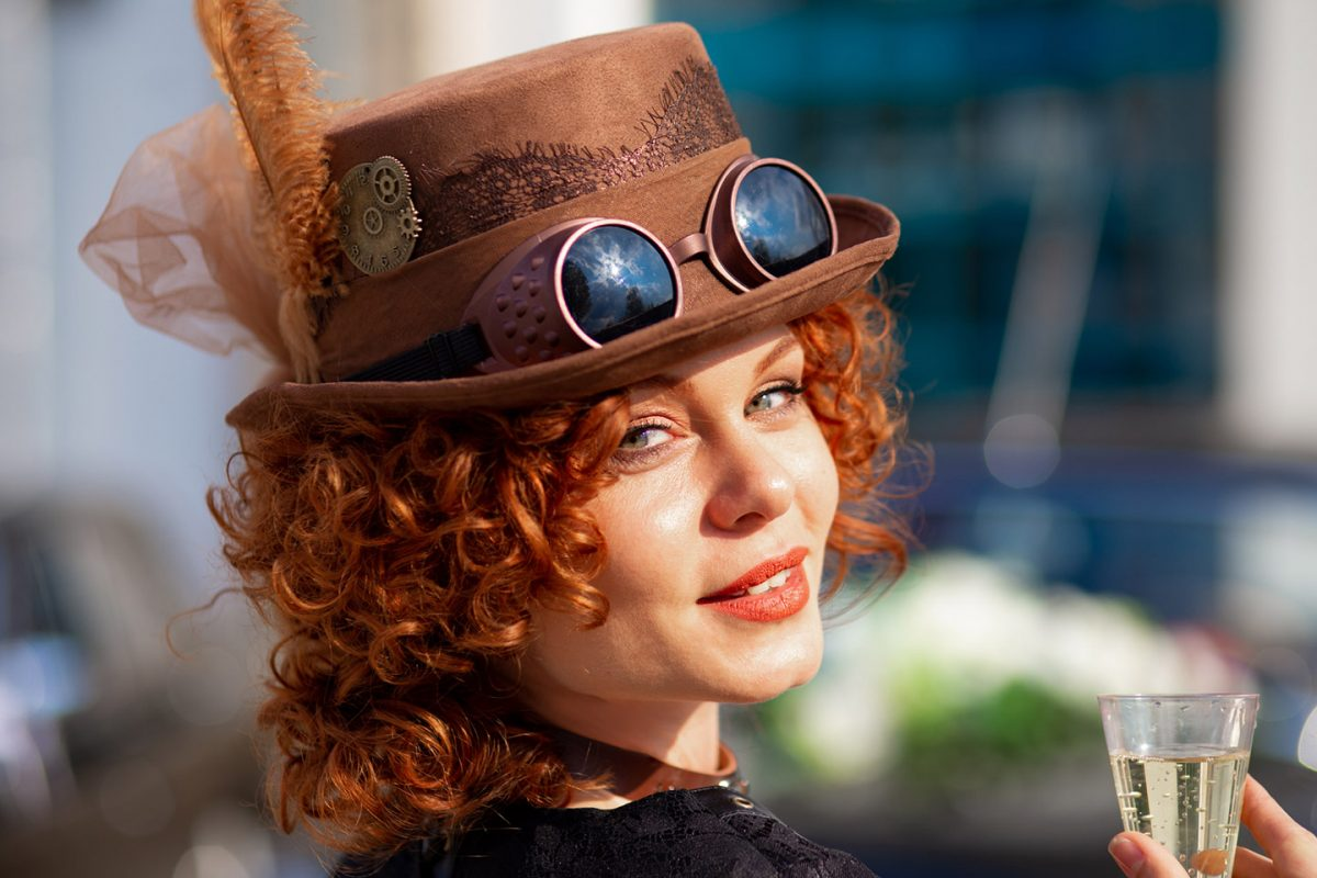 Steampunk, fashion photography