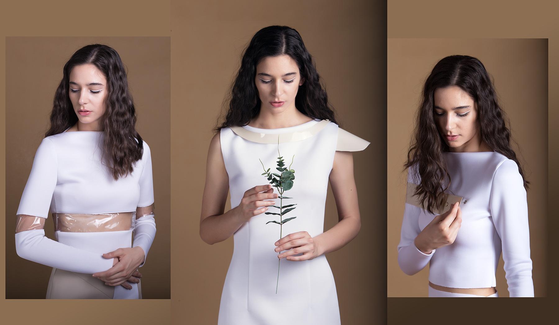 Model portfolio, fashion collection