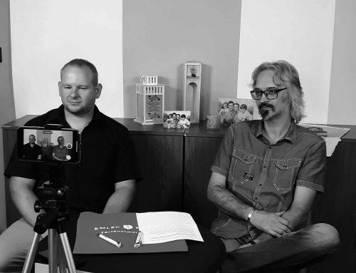 Interview at Emlékmentő team